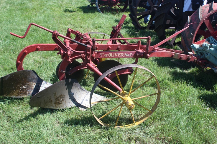 Vintage Garden Tractor Plow : Best images about old farm machinery on pinterest