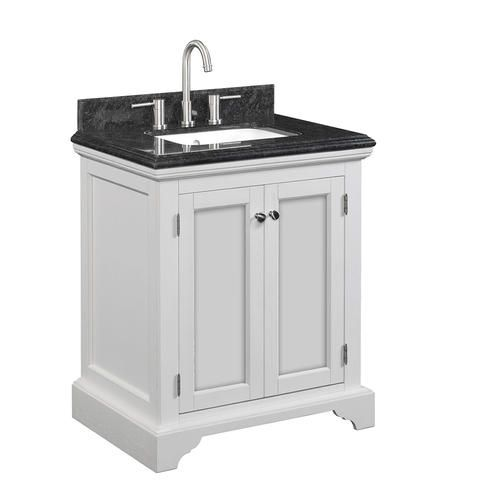 Tresanti 30 Quot W X 35 Quot H X 22 Quot D White Oak Vanity With Top At