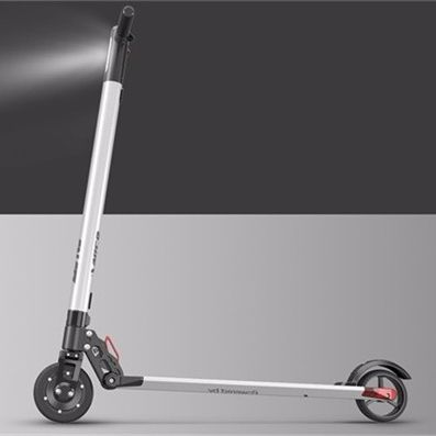 leeco scooter electrique pliant kg ultra leger km bms intelligent antiderapant antideflagrant