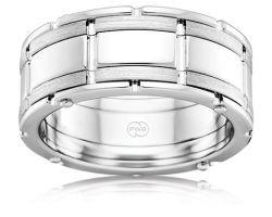 Mens White Gold Wedding Rings Sale — MARIFARTHING Blog : Mens ...