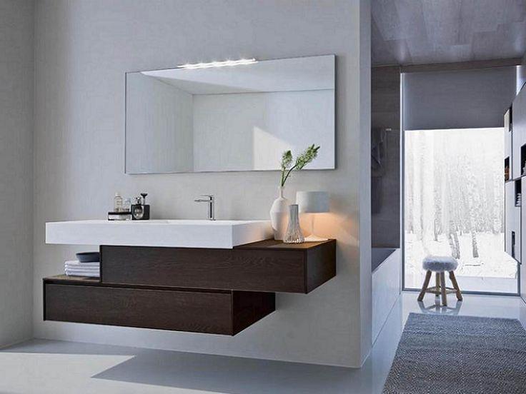 Oltre 25 fantastiche idee su bagni grigi su pinterest arredo bagno di servizio colori per - Mobili bagno moderni sospesi prezzi ...