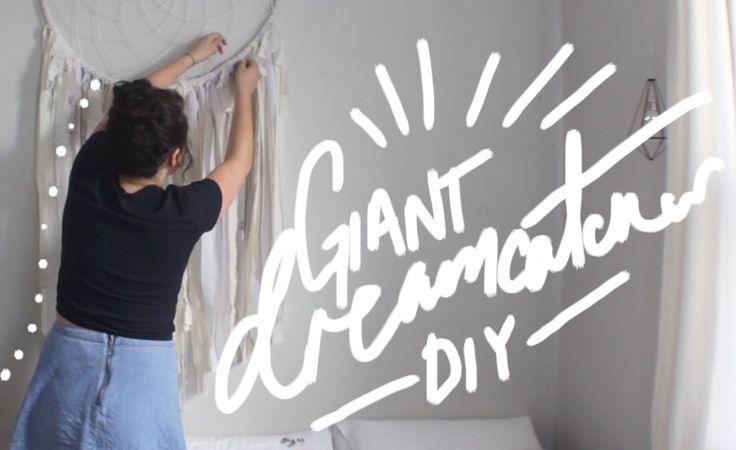 Giant Dream Catcher DIY - YouTube