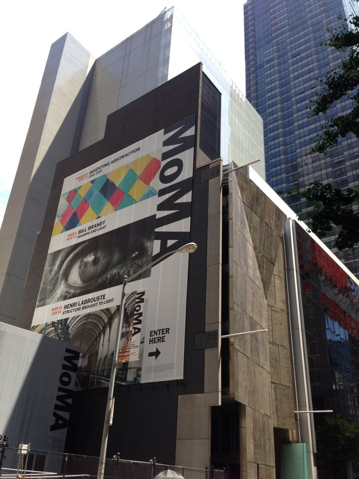 Museum of Modern Art (MoMA) in New York, NY. Yoko Ono exhibition, what a  wonderful, participative experience.