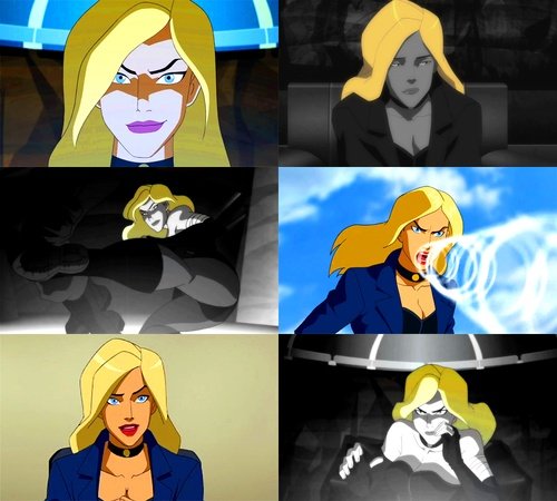 Young Justice Meme; Seven Characters  {3/7} Dinah Lance (Black Canary)