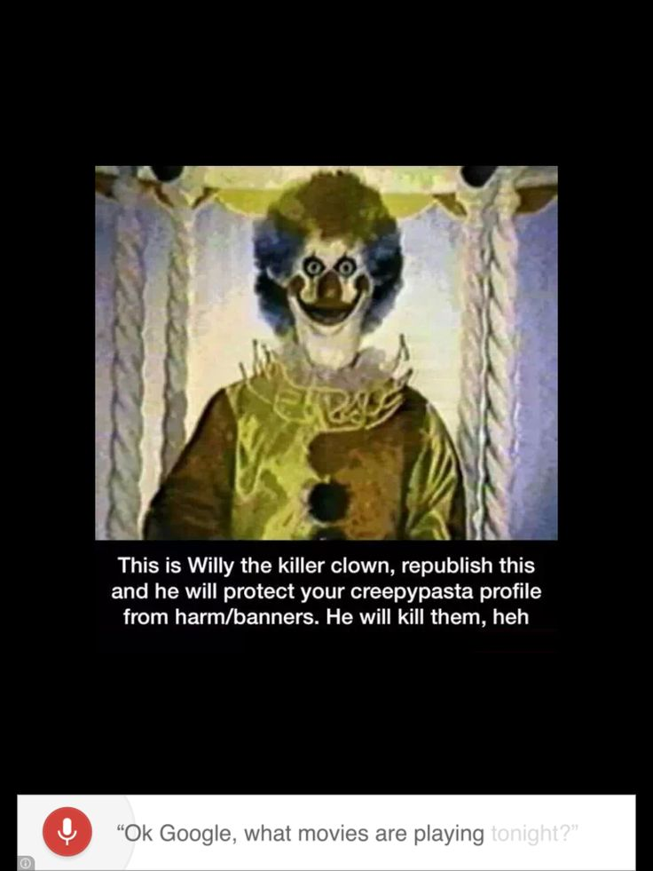 I hate clowns- from scary pictures (ifunny) | Are you ...
