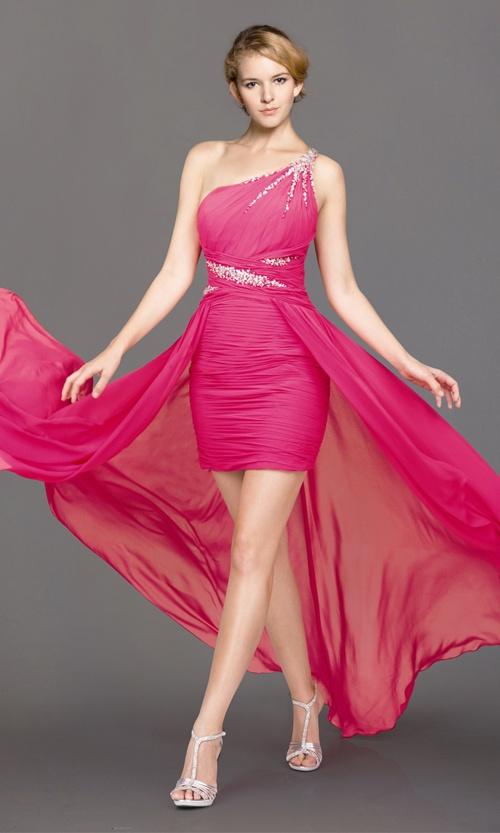 highlow prom dress