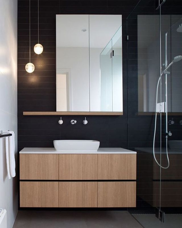 @simple.form So refreshing to be back to seeing and sending you inspiration for some monochrome + timber bathroom suites