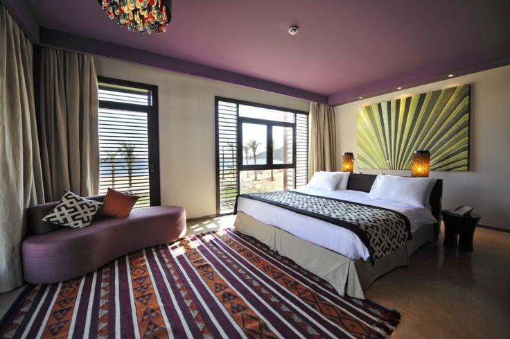 A sneak peak of Club Med Sinai Bay's refreshing rooms (Egypt).