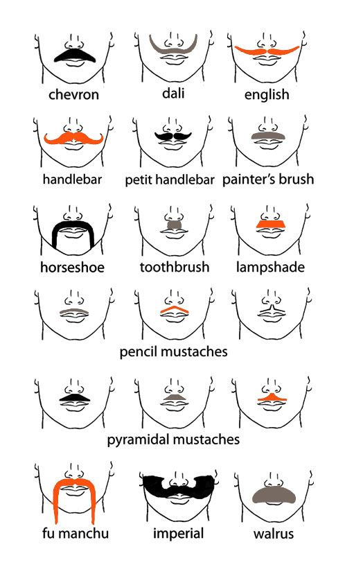 just in case you need to know all mustache types and the category they belong to :})