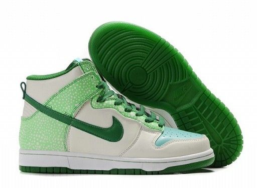 Authentic Nike Dunk High Mens Womens Glow In The Dark Shoes Outlet