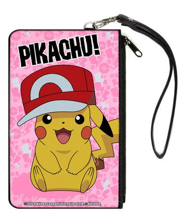 Look what I found on #zulily! Pokémon Pikachu With Ash's Hat Wristlet #zulilyfinds