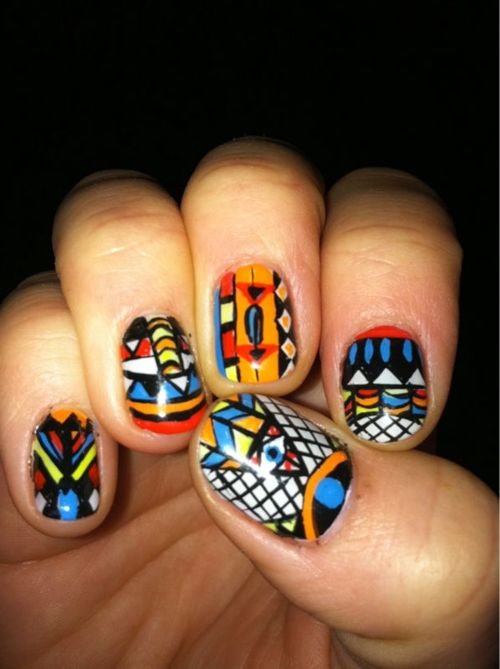 whoa, now that's a nail pattern