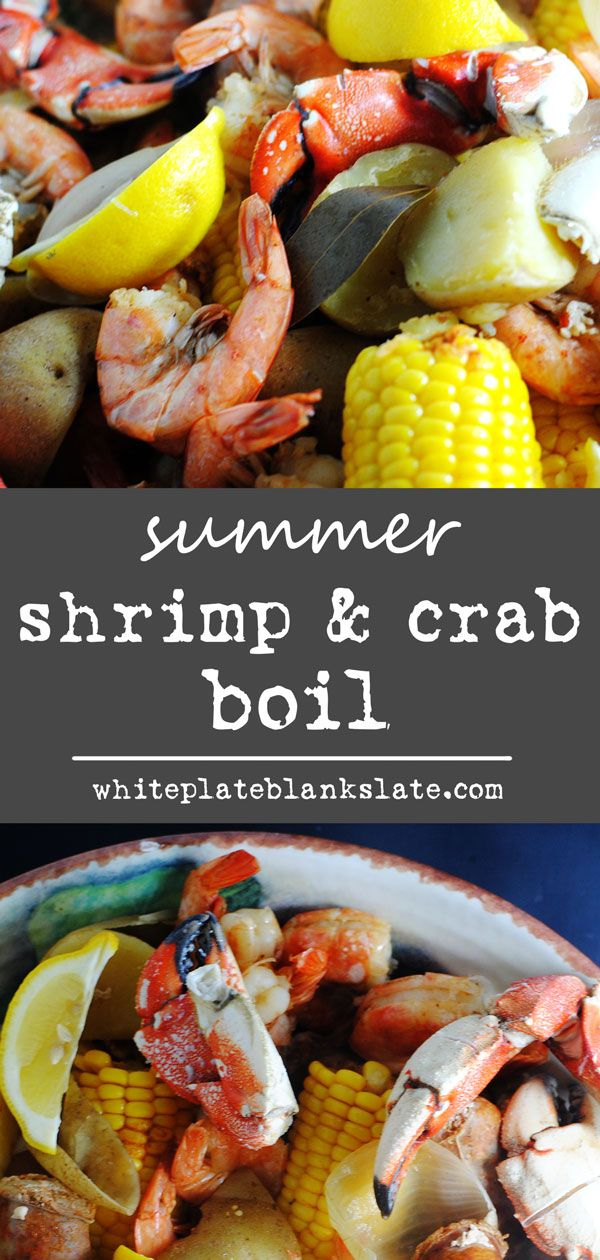 Summer shrimp boil with Jonah crab claws   Recipe   Food ...