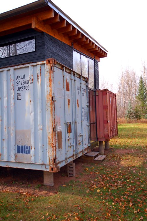 - Most beautiful houses made from shipping containers ...