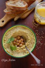 Хумус с кинзой