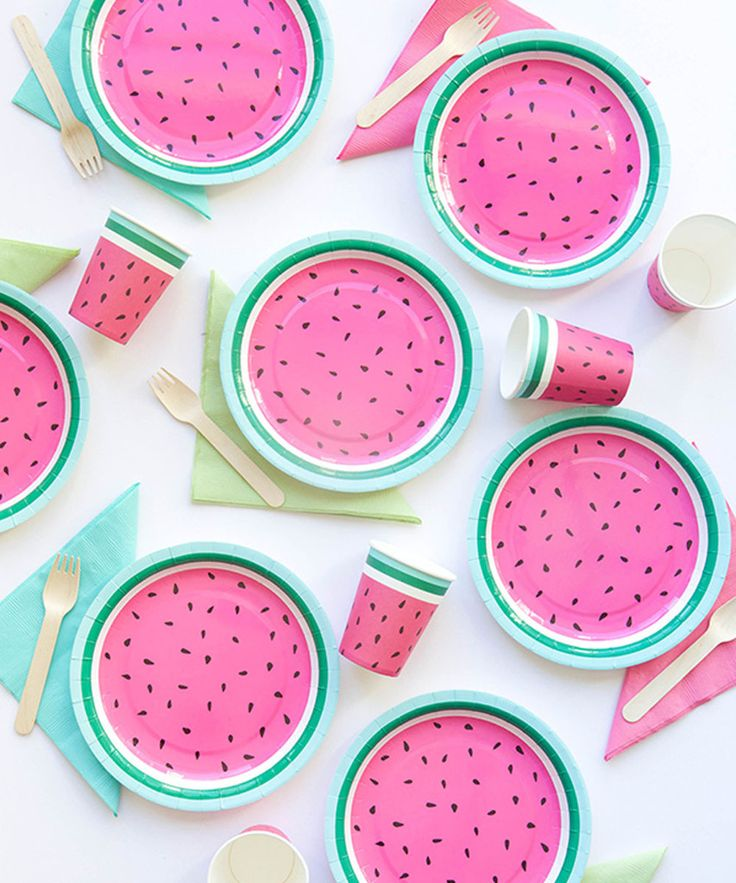 Watermelon Plates – Oh Happy Day Shop