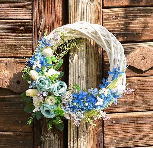 Hydrangea / Celoročný modrý venček