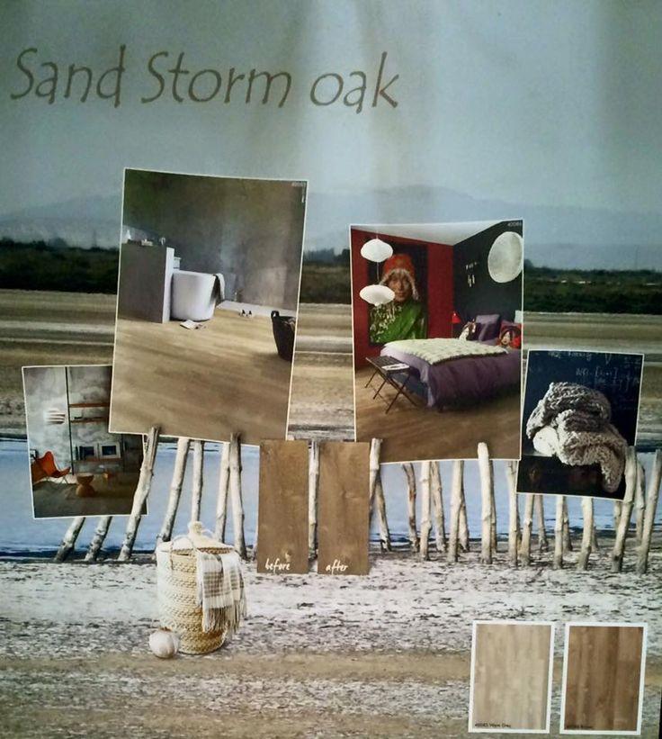 Quick-Step Livyn Pulse PVC vloeren, Sand storm oak kleuren