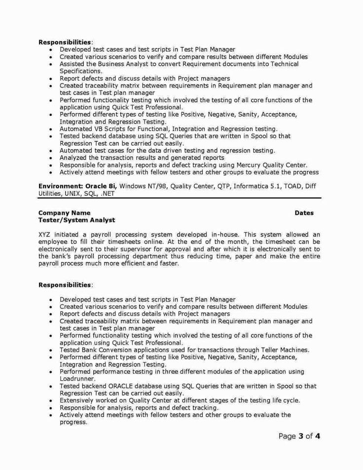 Teradata Resume Sample Written book report, Writing