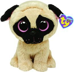 Ty Beanie Boos Plush - Pugsly dog