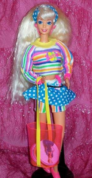 10 Retro Fashion Tips From Hilarious 80s Barbie Dolls