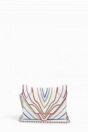 ELENA GHISELLINI Felina Mignon Mini Bag. #elenaghisellini #bags #shoulder bags #leather #