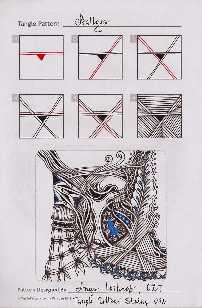 Zentangle. Обучение.