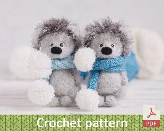 Amigurumi Hedgehog tutorial / Crochet Pattern Hedgehog / Hedgehog toys home decor,  #Amigurum…