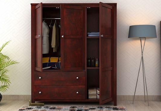 Pune | Bedroom cabinets, Wooden bedroom, Bedroom wall cabinets