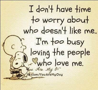Smart Fellow. We should listen to Snoopy.