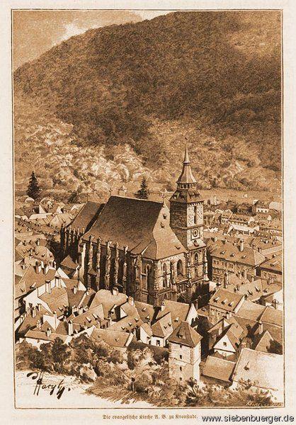 Kronstadt, wie es früher war.....