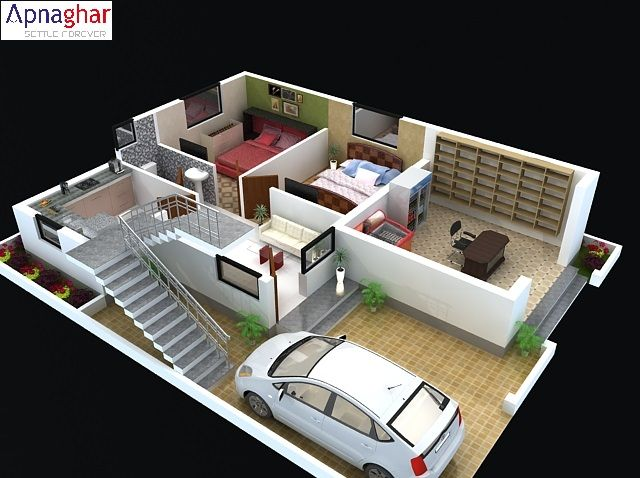 30 best images about 3d floor plan on pinterest gardens for Home design 3d 5 0 crack
