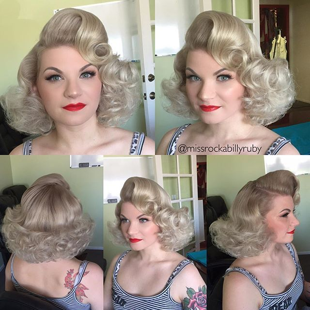 Miss Ruby @missrockabillyruby I got to glam up ...Instagram photo | Websta (Webstagram)