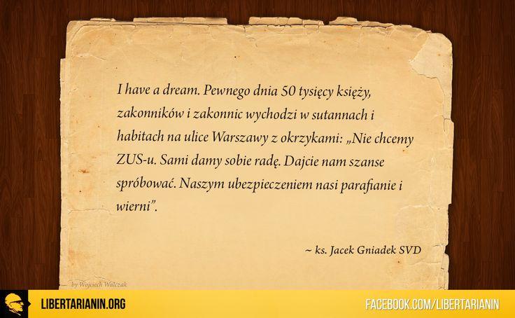 #ksiadz #misjonarz #jacek #gniadek #katolicyzm #polski #kosciol #katolicki #chrzescijanstwo #katolicka #nauka #spoleczna #wolnosc #przedsiebiorczosc #wlasnosc #prywatna #zus #socjalizm #etatyzm #mises