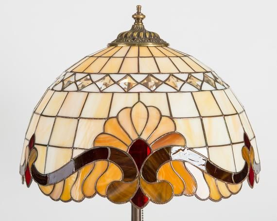 Modern Stained Glass Tiffany Lamp Bedside Lamp Shade