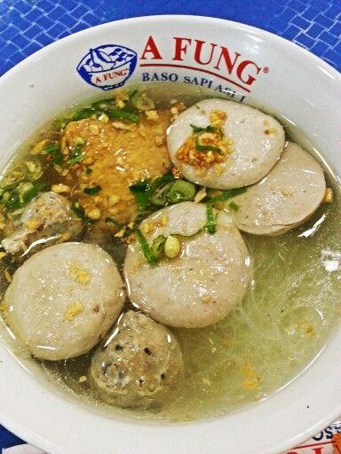Bakso gepeng afung - every food court in jakarta