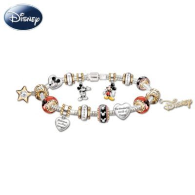 Walt Disney 110th Anniversary Celebration: Mickey Mouse Charm Bracelet- want