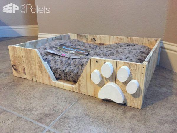 pallet dog bed instructions