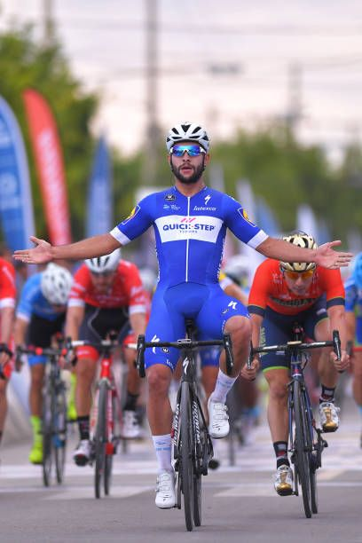 36th Tour of San Juan 2018 / Stage 1 Arrival / Fernando GAVIRIA / Celebration / Niccolo BONIFAZIO / San Juan Pocito / Vuelta A San Juan /