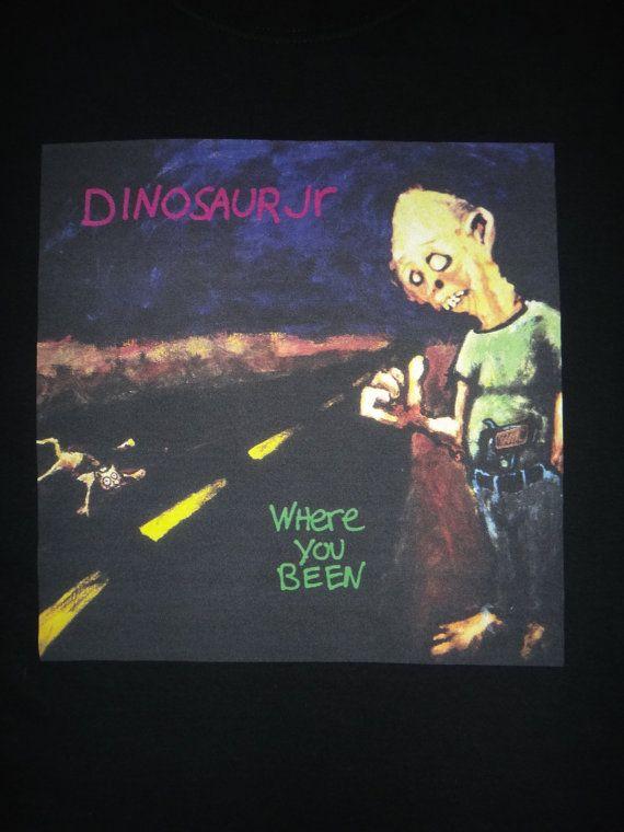 DINOSAUR JR Where You Been Unworn T Shirt Mudhoney Sonic Youth