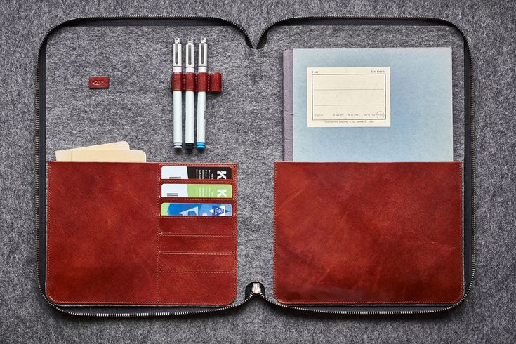 Book Man I Black  / Taška na dokumenty/notebook