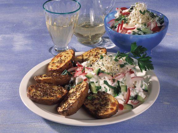 Blechkartoffeln ist ein Rezept mit frischen Zutaten aus der Kategorie Kochen. Probieren Sie dieses und weitere Rezepte von EAT SMARTER!