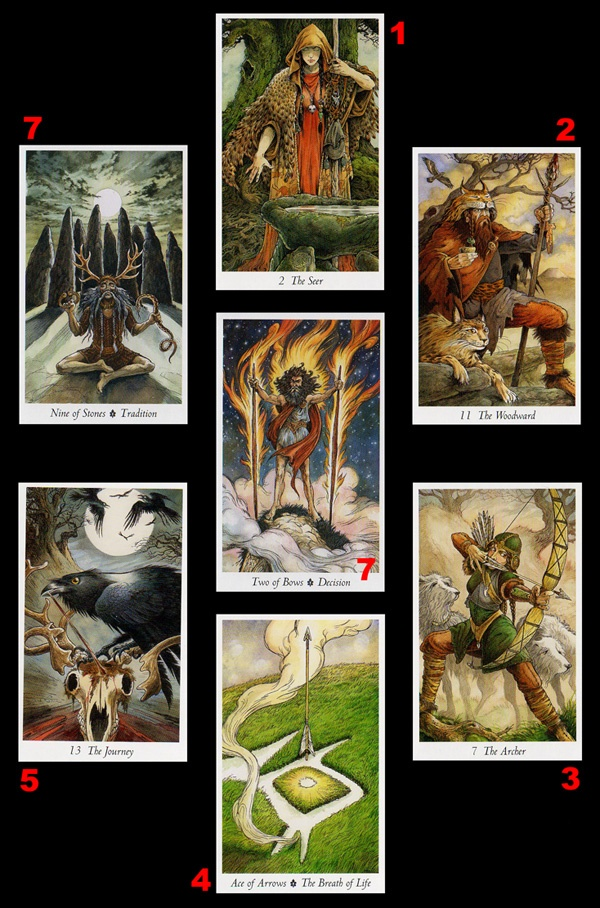 More Tarot Tuesday The Occult Detective The High: More Of The Wildwood Tarot