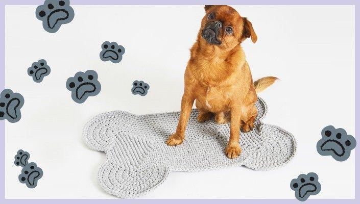 Howlin Mat Free Pattern Knitting Wool And The Gang Crochet Dog Knitting Patterns Free Dog Harness