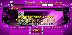 memberikan pembahasan bagus dan menarik pada artikel KokiQQ.com Situs Agen Judi Poker Online Uang Asli Terpercaya Di Indonesia memberikan penjelasan bagus seputar kokiqq