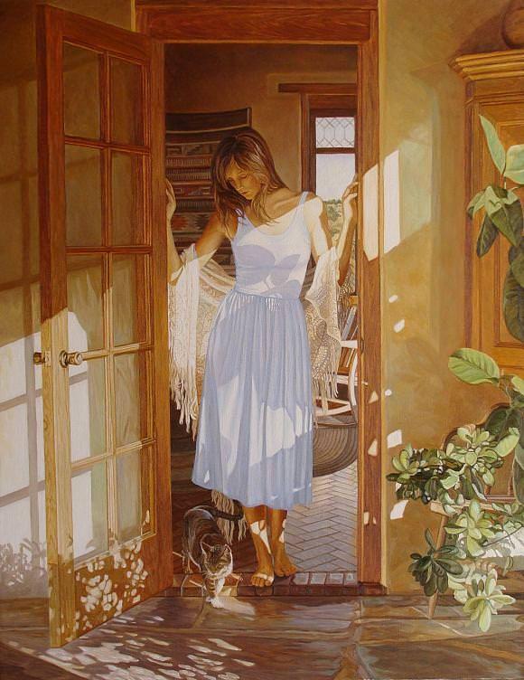 В лучах солнца. По мотивам С. Х., автор Andrey. Артклуб Gallerix