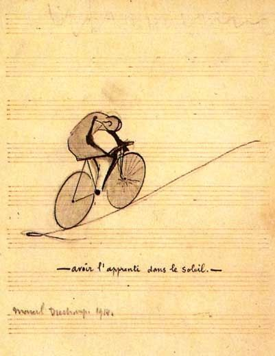 To Have the Apprentice in the Sun, Marcel Duchamp (1914)