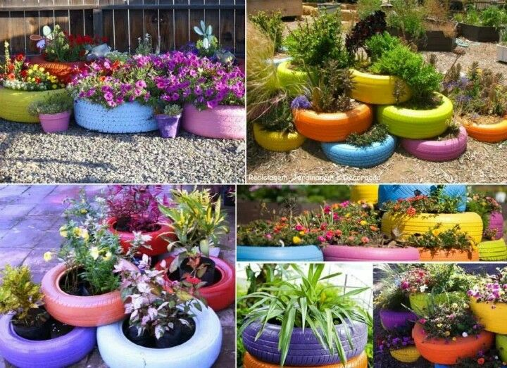 Garden Ideas Using Tyres 41 Best Tyre Inspiration Images
