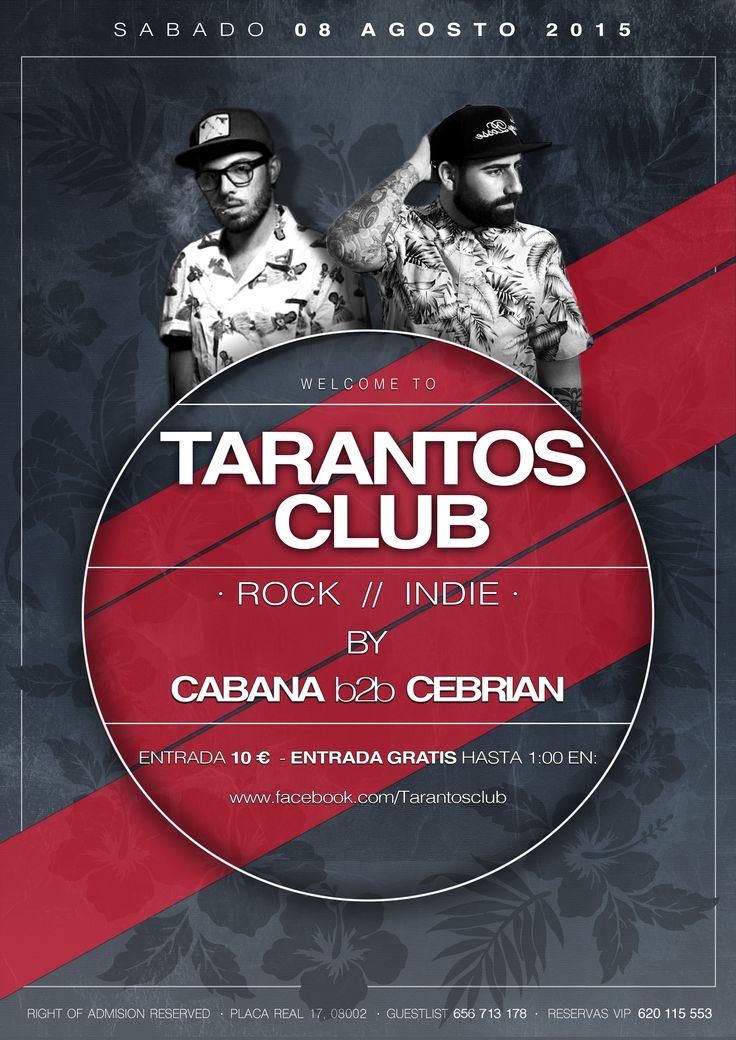 #Cabana #Cebrian #Rock #Indie #Tarantosclub