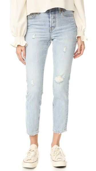 Levi's Wedgie Icon Selvedge Jeans on shopbop